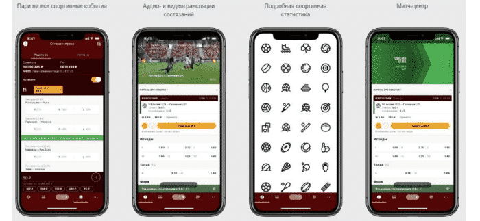 Приложение Фонбет на Айфон: интерфейс и функционал