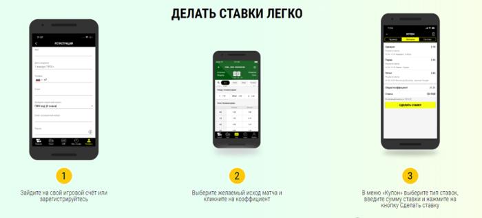 Регистрация в Париматч: зарегистрироваться с мобильного приложения на айфон